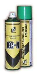 Кастровая аэрозольная смазка КС-М