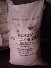 Сульфаминовая кислота марок  А,  Б по ТУ 2121-083-05800142-2011